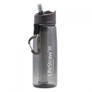 LifeStraw Go - Water Bottle with Filter - Grey