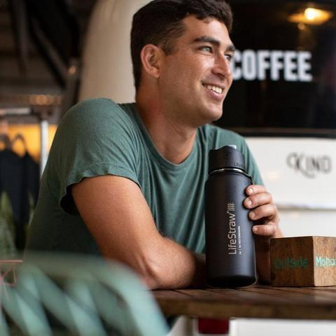 LifeStraw Go – Stainless Steel Bottle with Filter